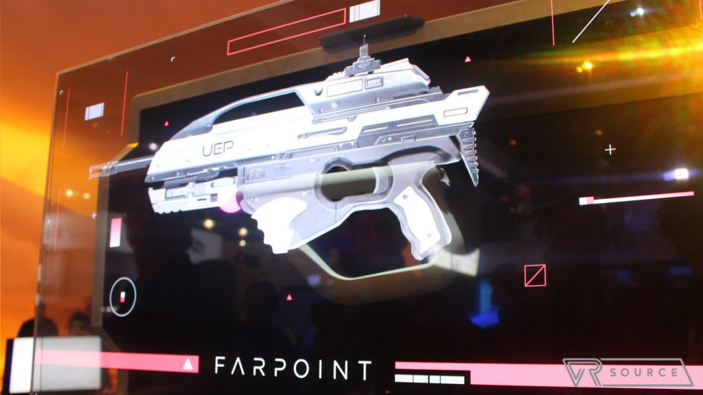 Farpoint and Playstation VR Aim hands on
