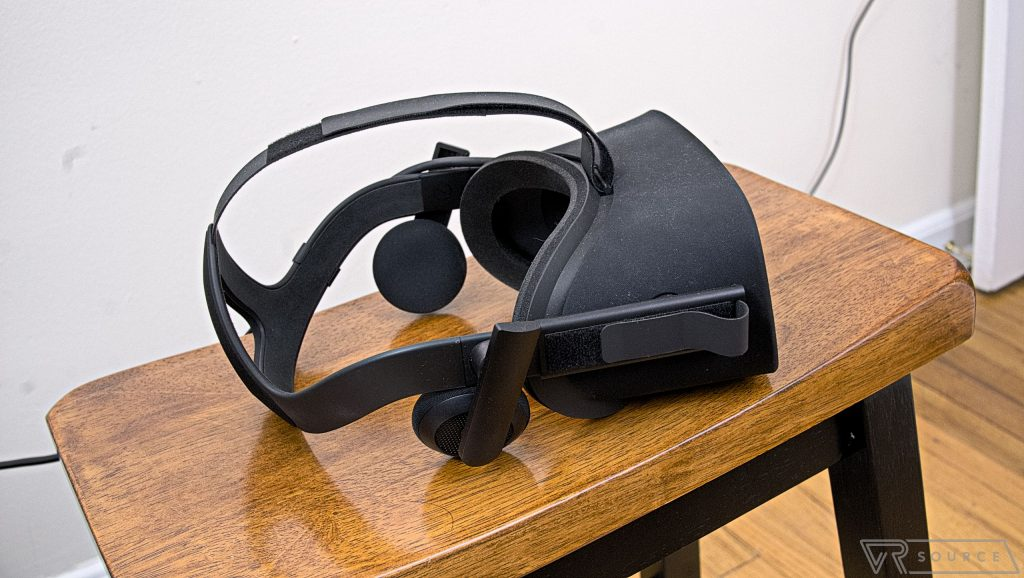 Oculus Remove headphones 2