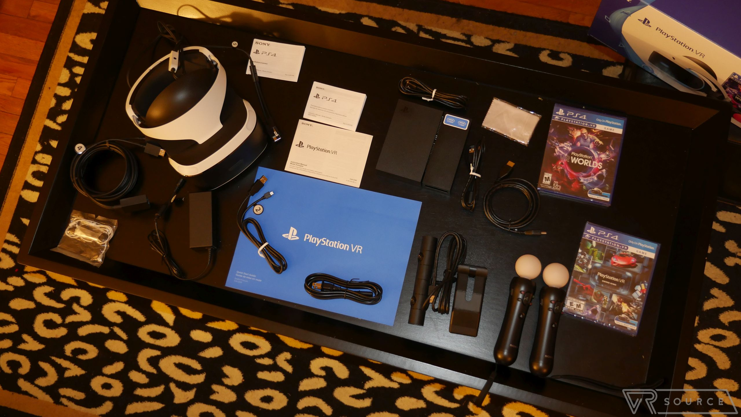 Sony PlayStation VR unboxing - VR Source