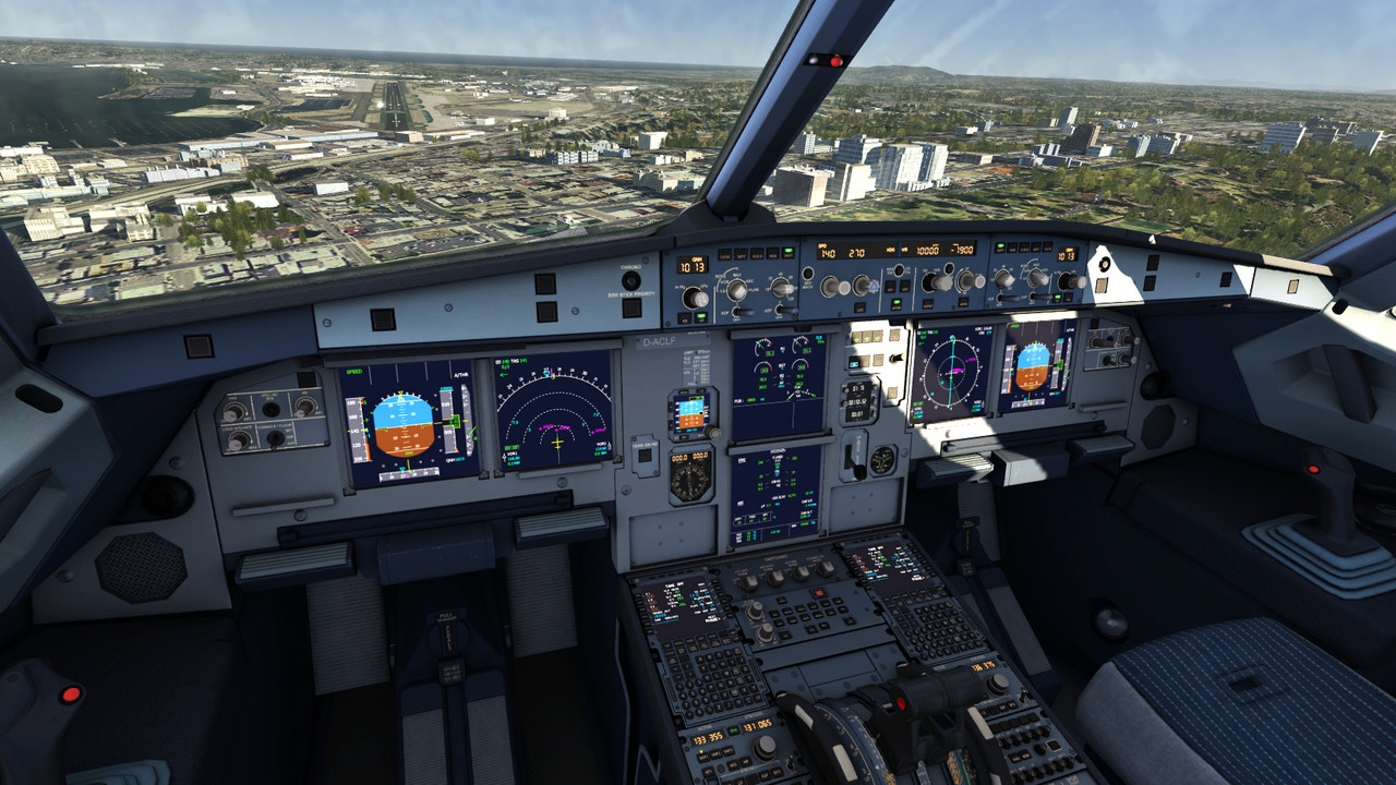 Aviasimulators civil aviation. Flight Simulators on PC 66