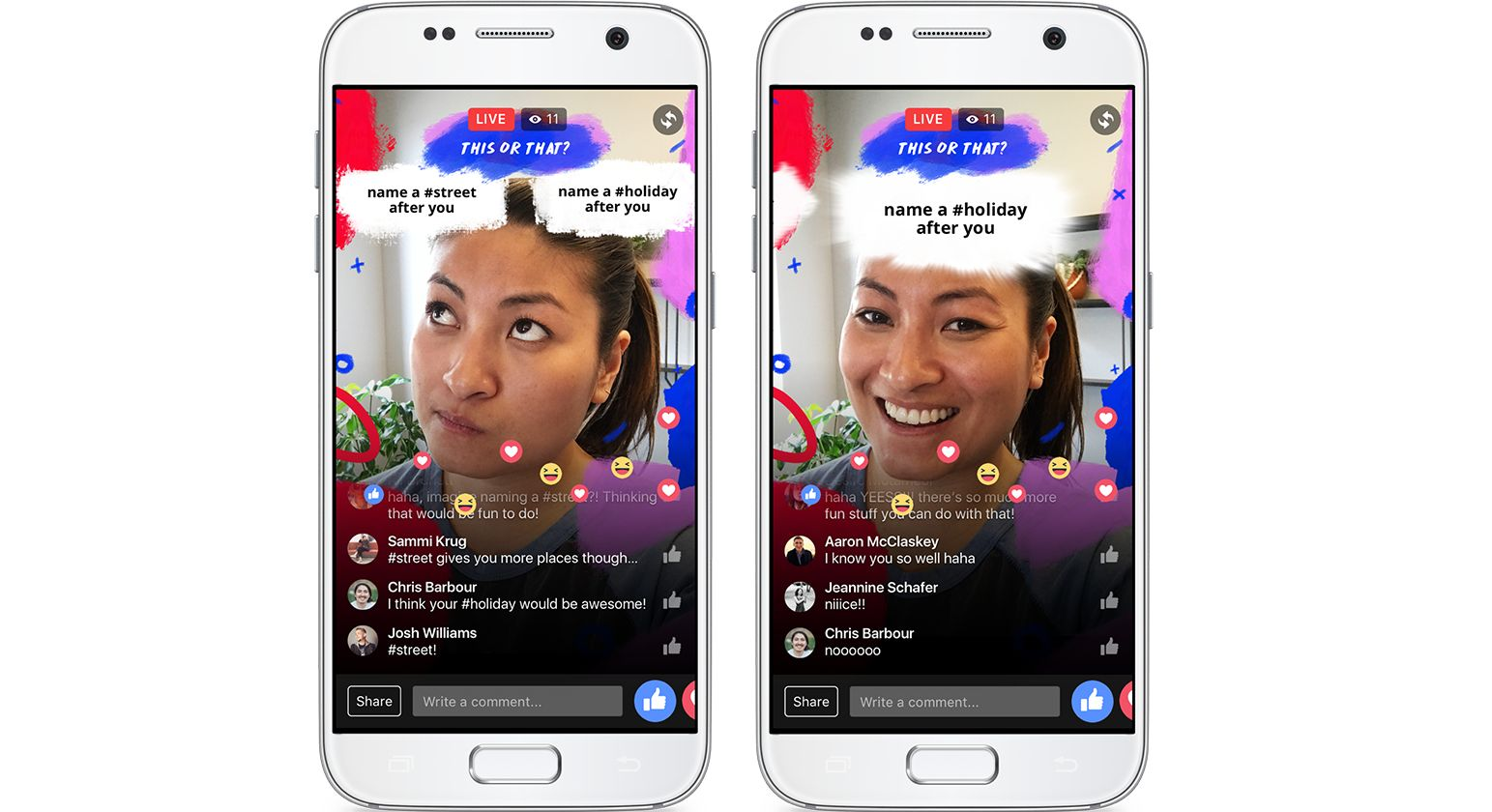 Facebook wants to turn every smartphone camera into an ar for Facebook camera