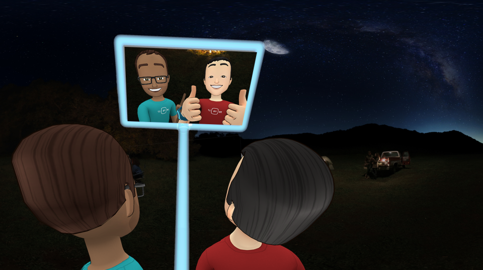 Facebook Spaces for Oculus Rift brings VR chat and meetings to a new