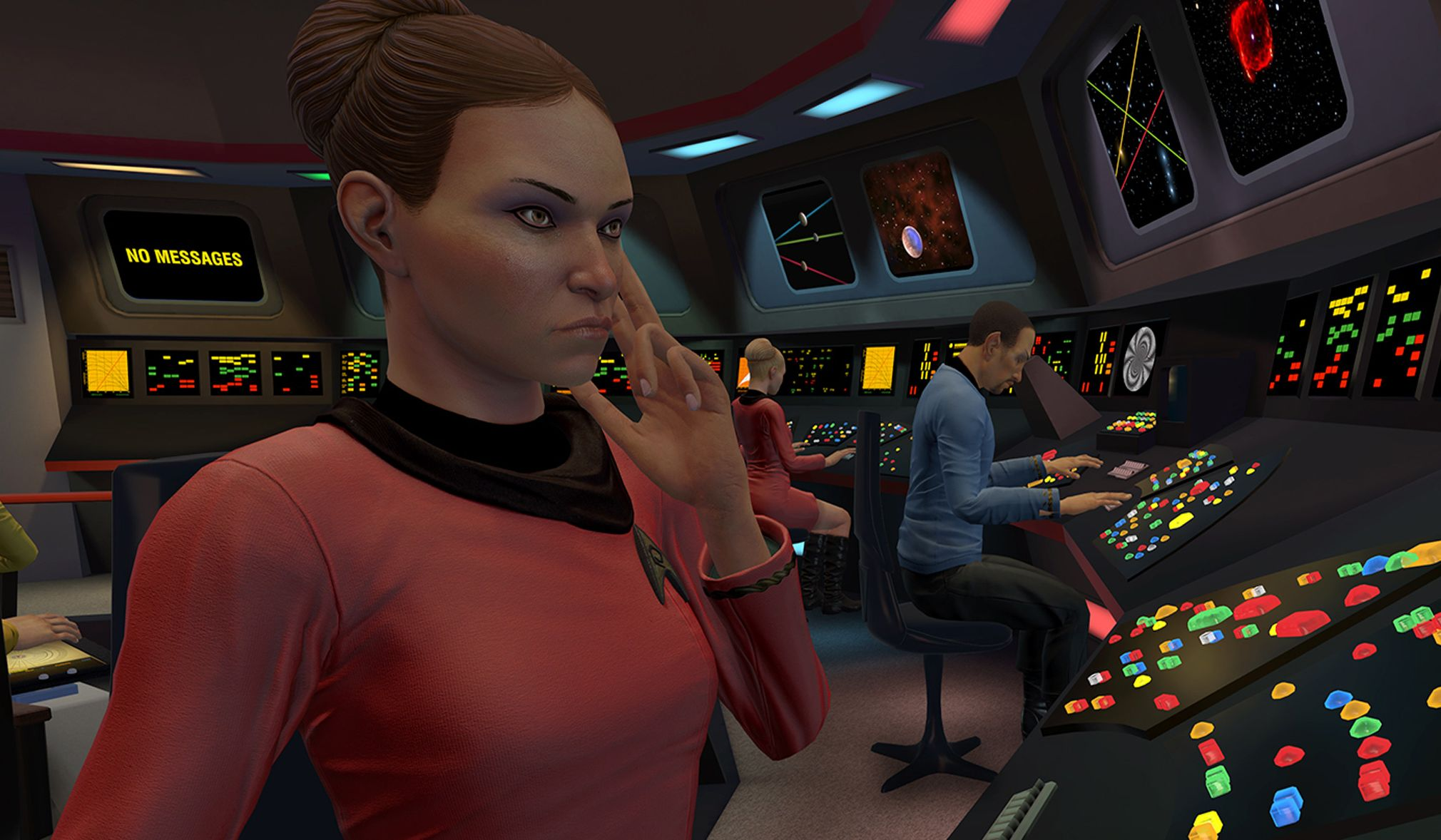 Star Trek: Bridge Crew to add computer voice commands via ...