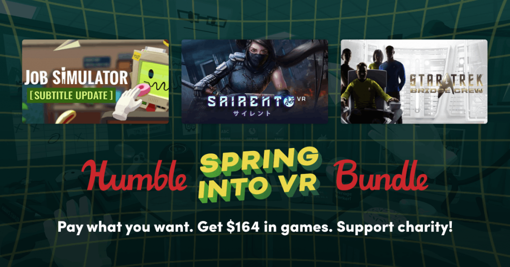 Spring Into VR Humble Bundle